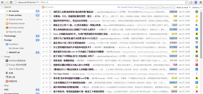 用 Tiny Tiny RSS 搭建自己的 RSS 订阅服务,阅读不再受控