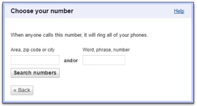 免费申请 Google Voice 美国电话号码