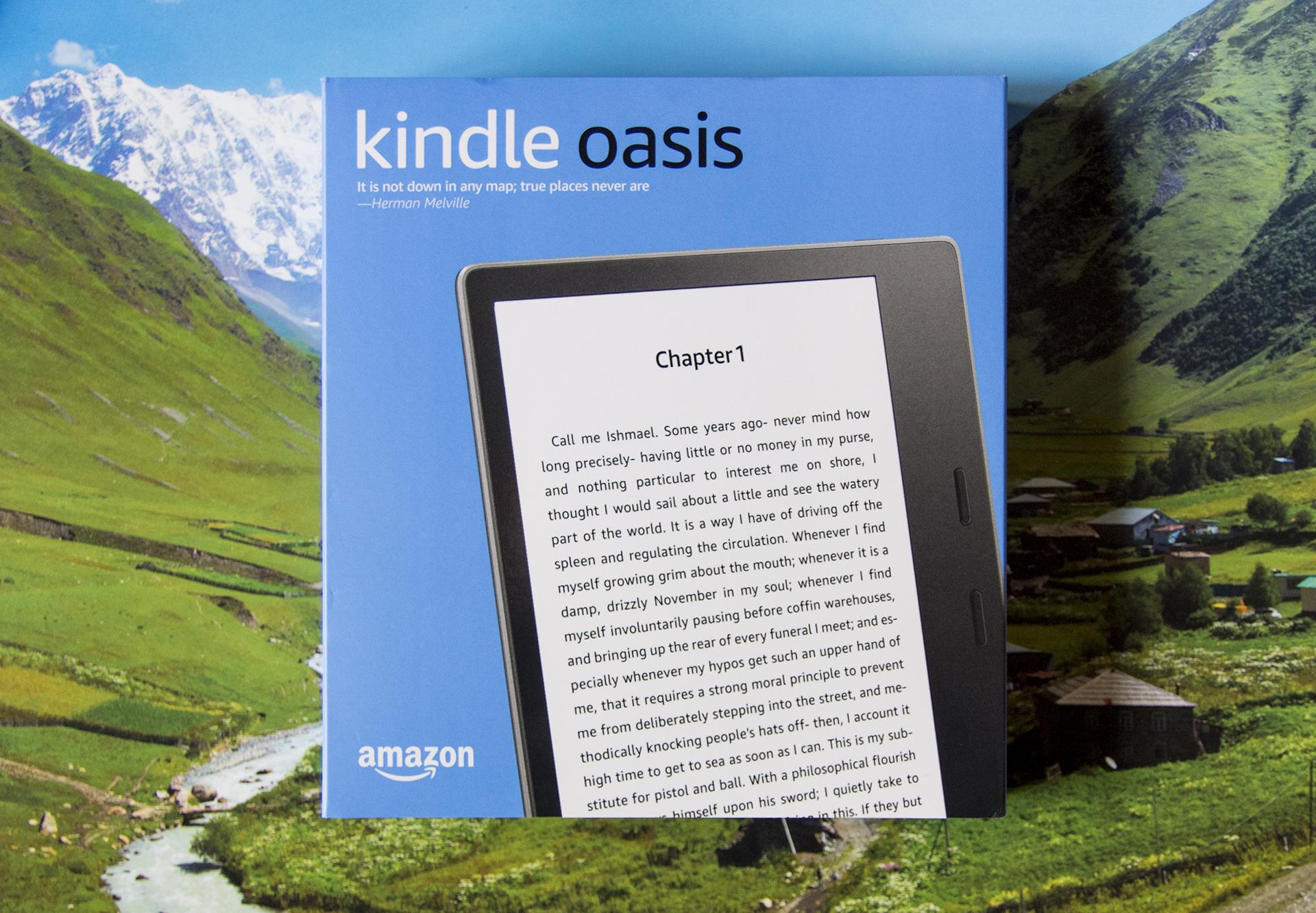 购入 Kindle Oasis 电纸书阅读器
